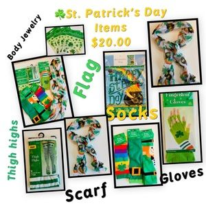 Happy St. Patrick Items